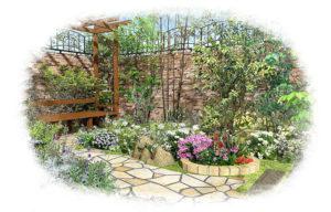 お庭イメージ